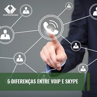 5 Diferenças Entre VOIP e Skype