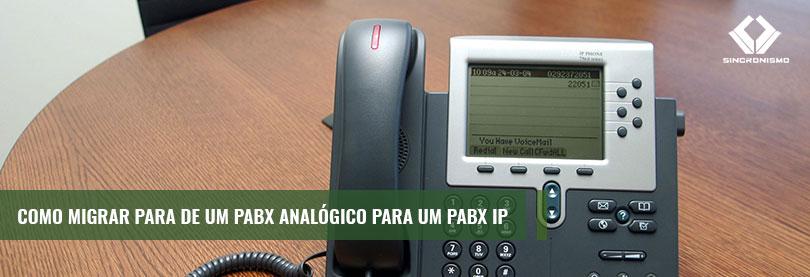 Como Migrar de um PABX Analógico Para um PABX IP?