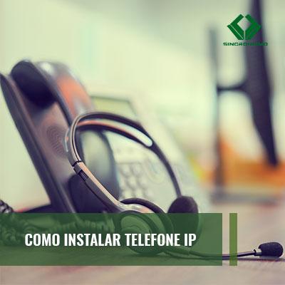 Como Instalar Telefone IP?