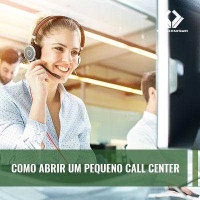 Como Abrir um Pequeno Call Center