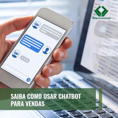 chatbot para vendas chatbot