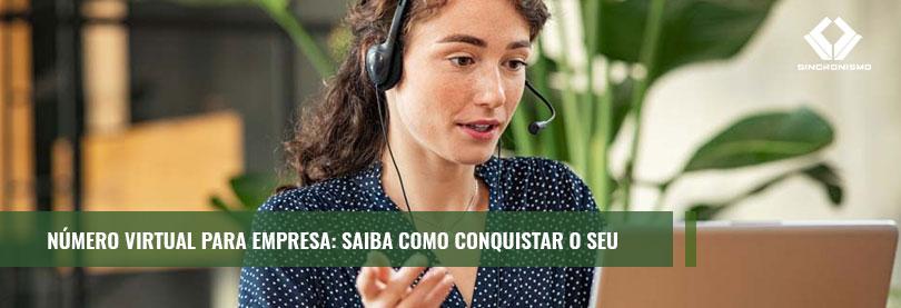 como ter número virtual para empresa