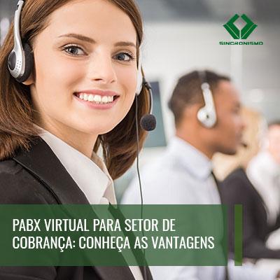 pabx virtual setor de cobrança